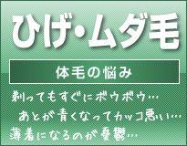 ひげ・ムダ毛