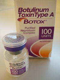 ボトックス注射のイメージ