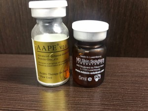 HARG療法で使用する薬剤の画像を掲載しています。